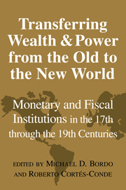 Transferring Wealth and Power from the Old to the New World