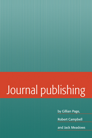 Journal Publishing