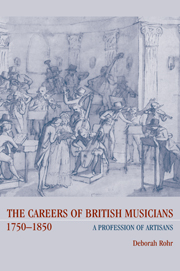 The Careers of British Musicians, 1750–1850