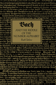 Bach and the Riddle of the Number Alphabet