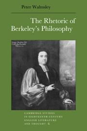 The Rhetoric of Berkeley's Philosophy