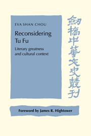 Reconsidering Tu Fu