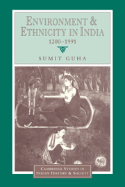 Environment and Ethnicity in India, 1200–1991