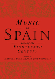 Music in Spain during the Eighteenth Century