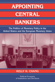 Appointing Central Bankers
