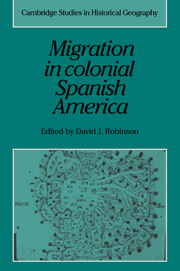 Migration in Colonial Spanish America