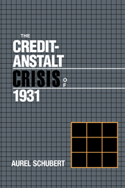 The Credit-Anstalt Crisis of 1931