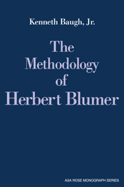 The Methodology of Herbert Blumer