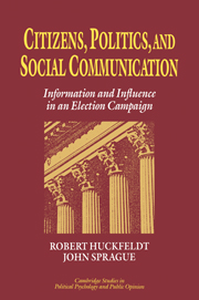 Citizens, Politics and Social Communication