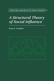 A Structural Theory of Social Influence