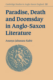 Paradise, Death and Doomsday in Anglo-Saxon Literature