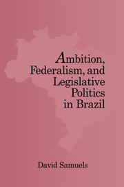Ambition, Federalism, and Legislative Politics in Brazil