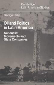 Oil and Politics in Latin America