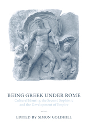 Being Greek under Rome