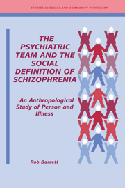 The Psychiatric Team and the Social Definition of Schizophrenia