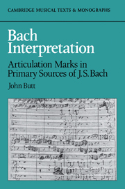 Bach Interpretation