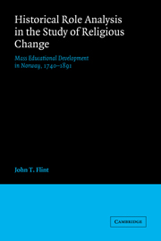 Historical Role Analysis in the Study of Religious Change