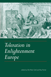 Toleration in Enlightenment Europe