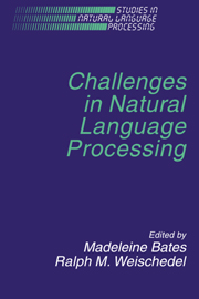 Challenges in Natural Language Processing