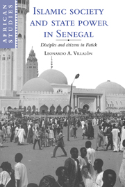 Islamic Society and State Power in Senegal