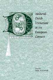 Medieval Dutch Literature in its European Context