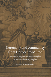 Ceremony and Community from Herbert to Milton