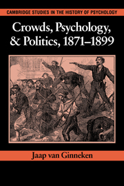 Crowds, Psychology, and Politics, 1871–1899