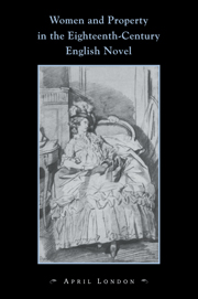 Women and Property in the Eighteenth-Century English Novel
