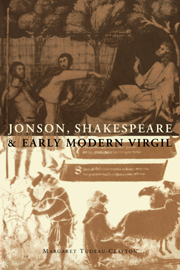 Jonson, Shakespeare and Early Modern Virgil