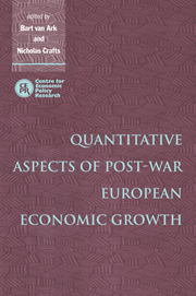 Quantitative Aspects of Post-War European Economic Growth
