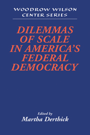 Dilemmas of Scale in America's Federal Democracy