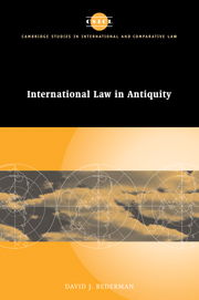 International Law in Antiquity