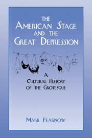 The American Stage and the Great Depression