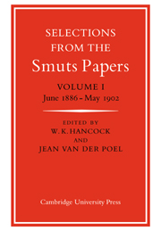 Selections from the Smuts Papers