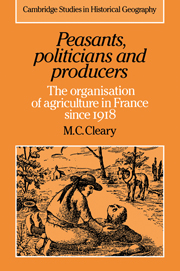 Peasants, Politicians and Producers