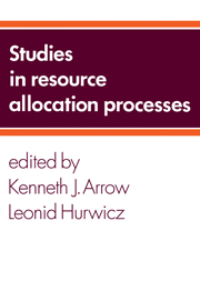 Studies in Resource Allocation Processes
