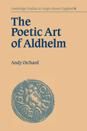 The Poetic Art of Aldhelm