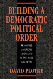 Building a Democratic Political Order