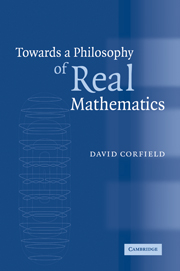 Towards a Philosophy of Real Mathematics