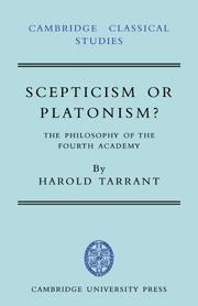 Scepticism or Platonism?