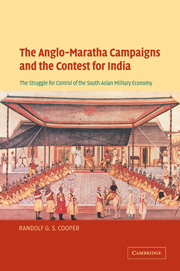 The Anglo-Maratha Campaigns and the Contest for India
