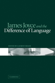 James Joyce and the Difference of Language