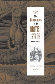 The Economics of the British Stage 1800–1914