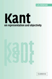 Kant on Representation and Objectivity