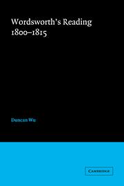 Wordsworth's Reading 1800–1815