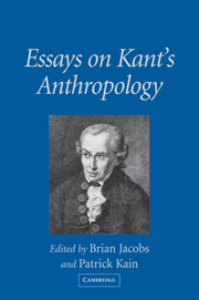 Essays on Kant's Anthropology
