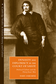 Dynasty and Diplomacy in the Court of Savoy