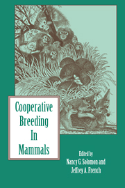 Cooperative Breeding in Mammals