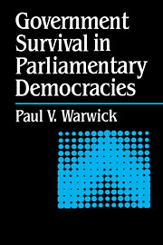 Government Survival in Parliamentary Democracies