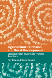 Agricultural Extension and Rural Development